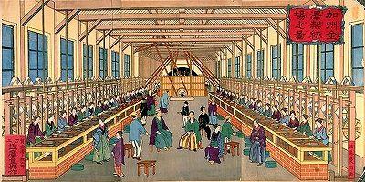 石川郷土史学会ブログ          研究発表「金沢製糸場の動態模型について」