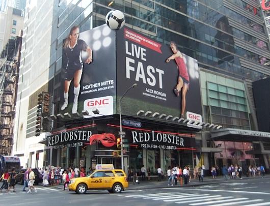 NYのタイムズ・スクエアで見かけたすごい発想の看板(続編)_b0007805_4361913.jpg