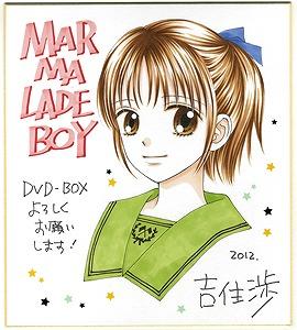 10月24日リリースの「ママレード・ボーイ」アニバーサリーDVD-BOXより、最新情報が到着!!_e0025035_943029.jpg