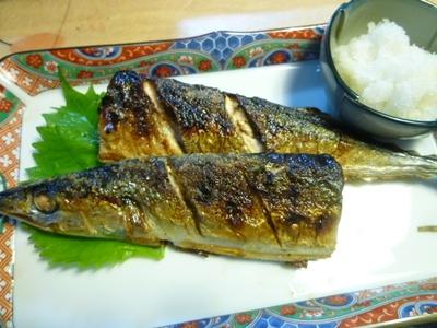 秋刀魚、美味しかった~=*^-^*=にこっ♪_b0175688_20372657.jpg