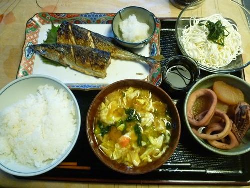 秋刀魚、美味しかった~=*^-^*=にこっ♪_b0175688_2038077.jpg