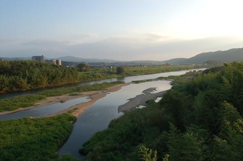 木津川の流れ!は、美しかった~!_d0060693_2023229.jpg