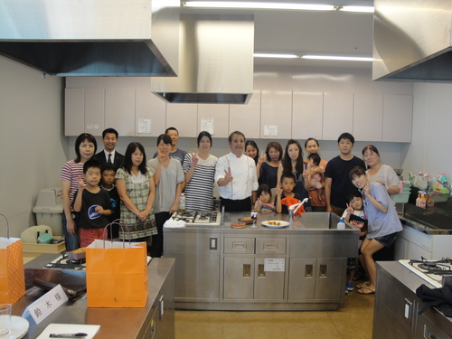 26日、横川哲也オーナーパティシエによるケーキ教室 2日目_a0242500_13215965.jpg