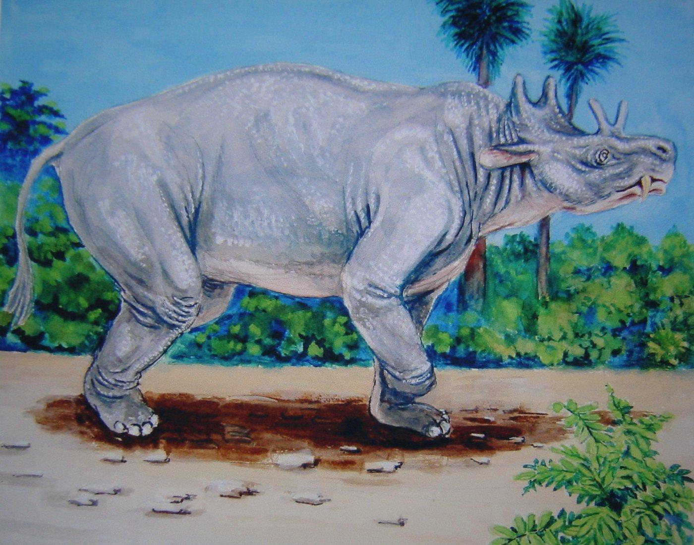エンタテリウム:新生代初期の哺乳類 : 田代正之絵画集(趣味の絵画)