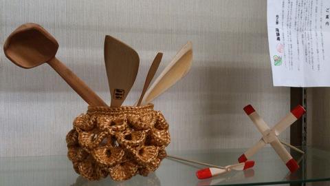 丁寧に手作りされた竹細工、見てください。_d0182179_19403452.jpg