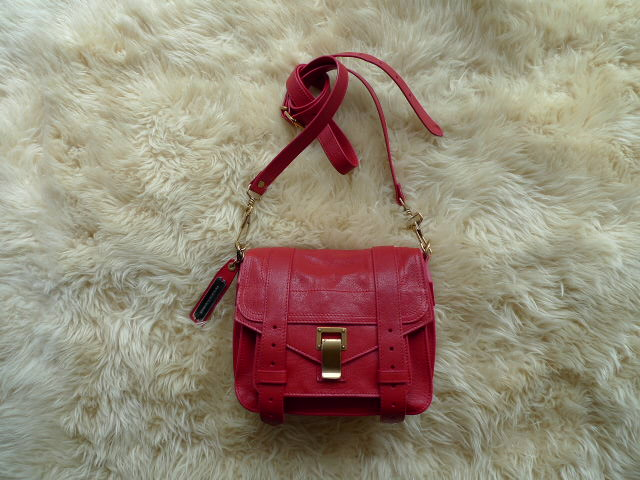 PROENZA SCHOULER LUX LEATHER PS1 POUCH RIPSTICK_f0111683_1326321.jpg