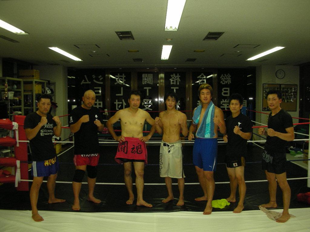 8月25日、合同練習会@新津 総合格闘技ジムBATTLE_c0187684_2114742.jpg