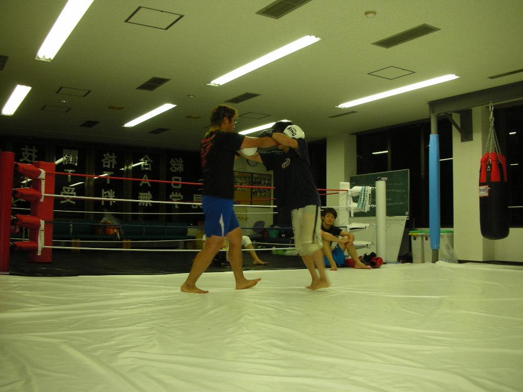 8月25日、合同練習会@新津 総合格闘技ジムBATTLE_c0187684_2133667.jpg