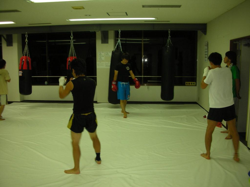8月25日、合同練習会@新津 総合格闘技ジムBATTLE_c0187684_2141467.jpg