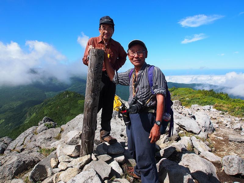 8月25日、法起坊見習いさんと積丹岳-その2-_f0138096_95438100.jpg