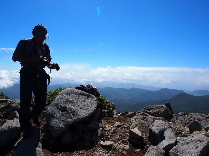 8月25日、法起坊見習いさんと積丹岳-その2-_f0138096_9545988.jpg