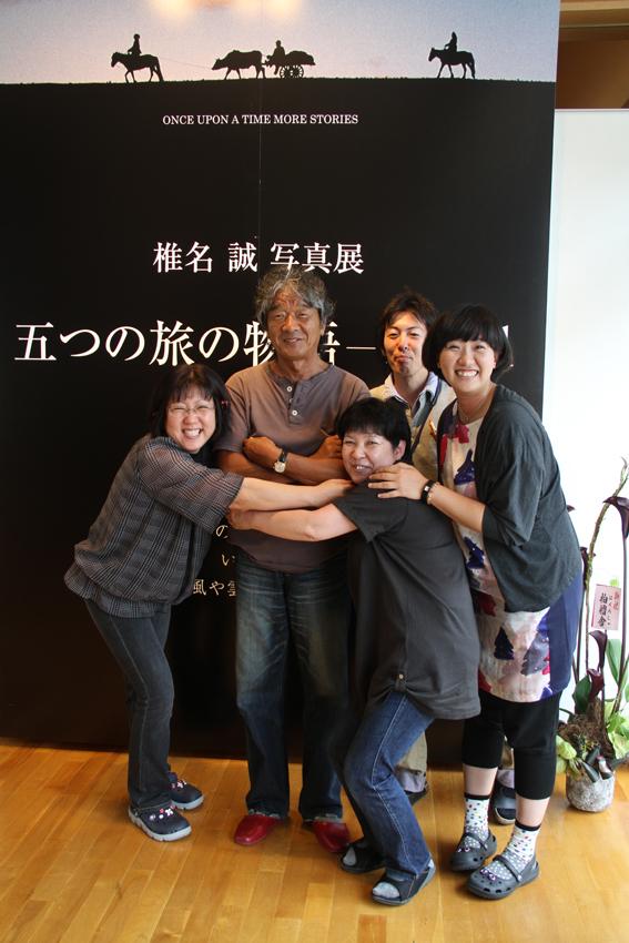 椎名誠氏による講演会が写真の町・東川町で行われました!_b0187229_1124856.jpg