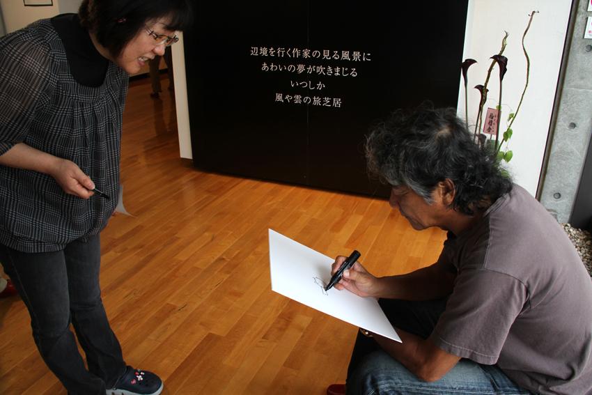 椎名誠氏による講演会が写真の町・東川町で行われました!_b0187229_1744088.jpg