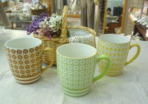 お気に入りのマグカップで。_f0166439_2012646.jpg