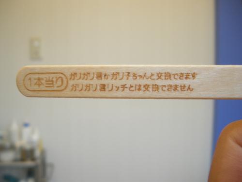 ガリガリ君♪_c0231772_16285788.jpg