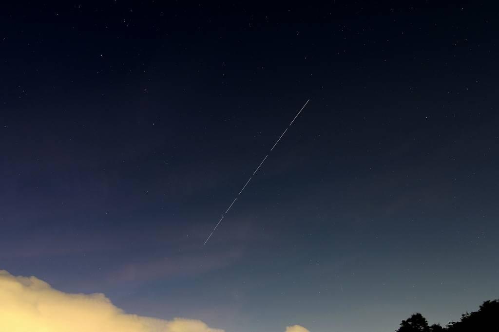 昨夕のカワセミ/国際宇宙ステーション/真っ赤な朝焼け_b0024798_13594541.jpg