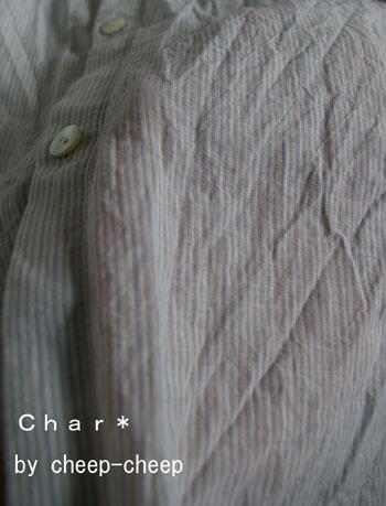 NEW! C/Lスラブストライプ・プチカラーシャツ_a0162603_11481310.jpg