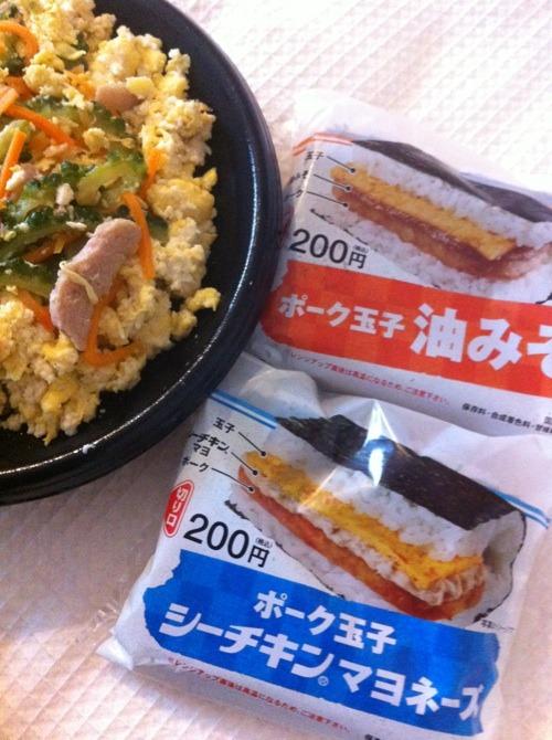 台風の日の食事 & 那覇空港グルメ☆_f0141419_6178100.jpg