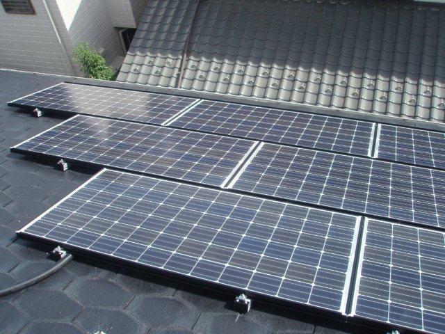 Panasonic太陽光発電4.893kw1日目-2(横浜市)_e0207151_19345953.jpg