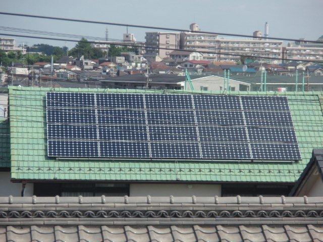 Panasonic太陽光発電4.893kw1日目-2(横浜市)_e0207151_19563189.jpg
