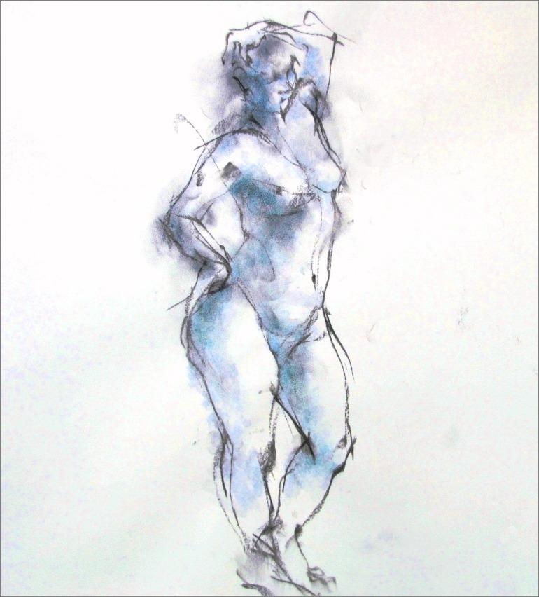 《裸婦素描(クロッキー)》_f0159856_6533156.jpg