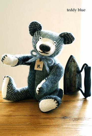 tweedy gray teddy  ツイーディグレイのテディ _e0253364_155166.jpg