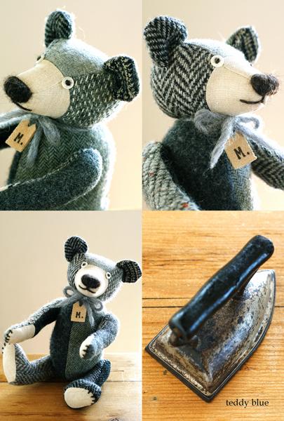 tweedy gray teddy  ツイーディグレイのテディ _e0253364_165756.jpg