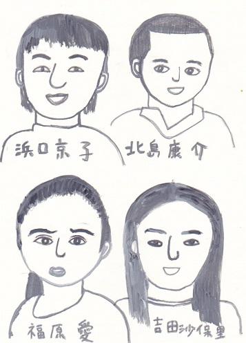 Mj課題「顔の練習」_d0259392_1193349.jpg