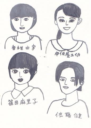 Mj課題「顔の練習」_d0259392_1195135.jpg