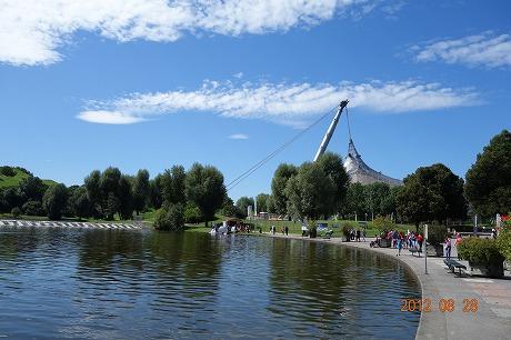 ミュンヘンオリンピック公園_a0152501_18334011.jpg