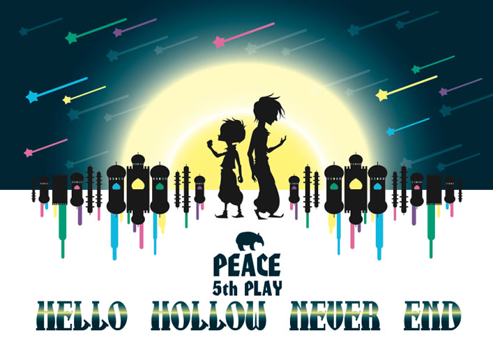 「HELLO HOLLOW NEVER END」_a0139911_13294038.jpg