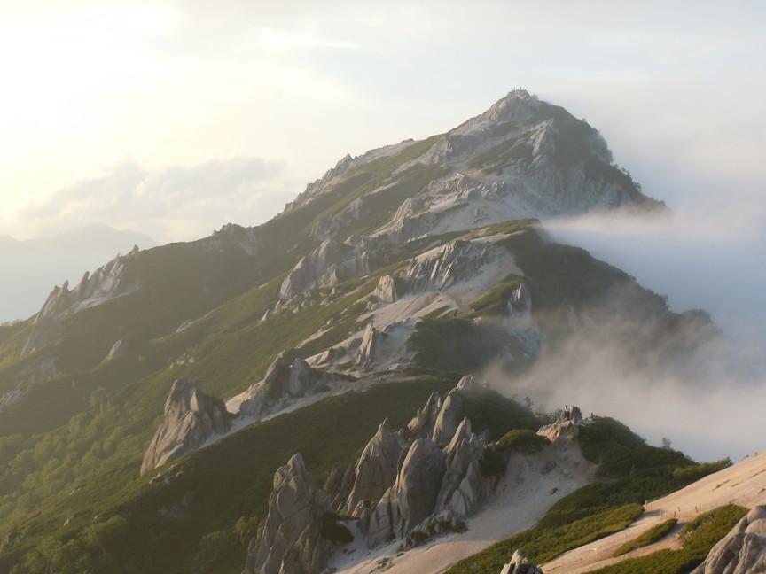 2012年8月 再び日本アルプスへ、『槍ケ岳』_c0219616_912392.jpg