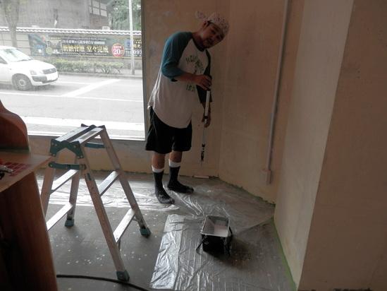 「土壁」塗りと「神棚」~☆_a0125419_7574789.jpg