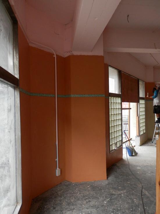 「土壁」塗りと「神棚」~☆_a0125419_8143015.jpg
