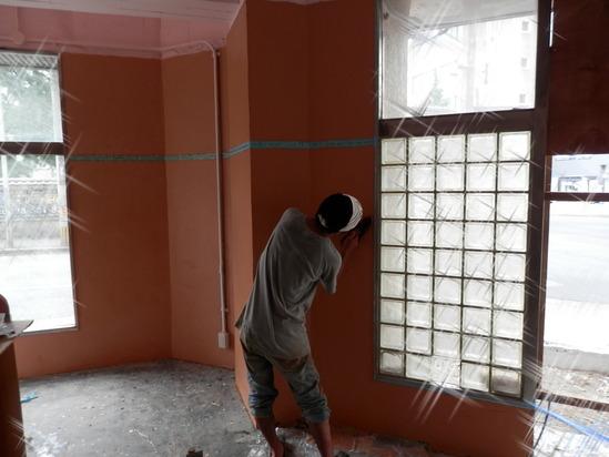 「土壁」塗りと「神棚」~☆_a0125419_831668.jpg