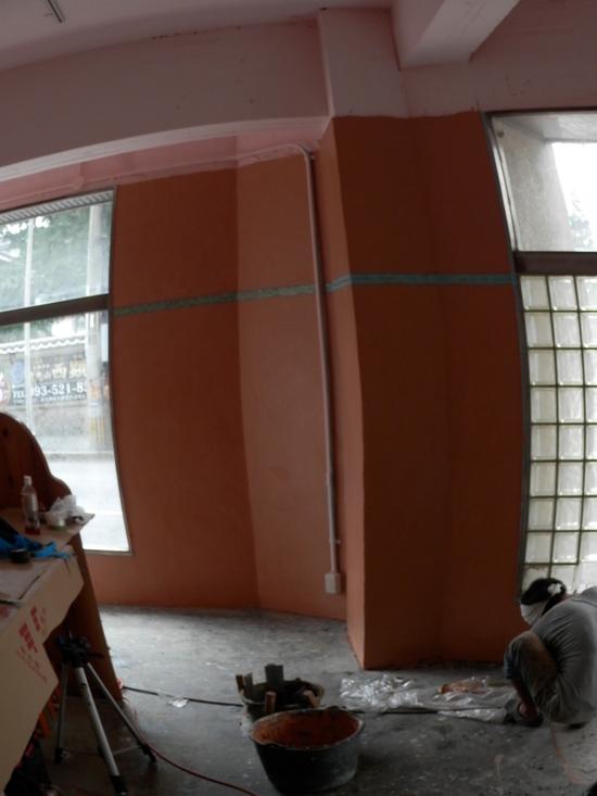 「土壁」塗りと「神棚」~☆_a0125419_841444.jpg
