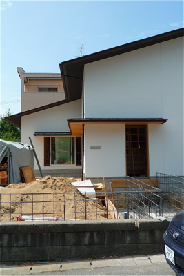 H-House!!  今日の現場の様子。_f0165030_120916.jpg