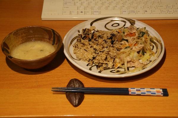 夕飯お供え物_e0166355_1922634.jpg