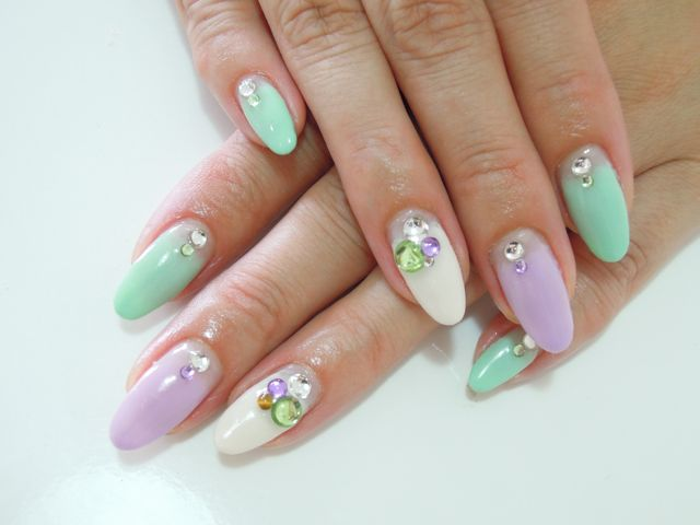 Pastel Nail_a0239065_16464518.jpg