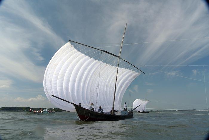 霞ヶ浦帆引き船 No.2_d0006270_15522899.jpg