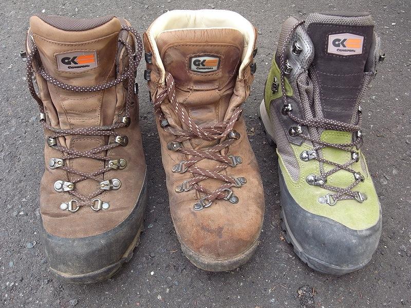 登山靴のインソールボード_f0138096_1122454.jpg