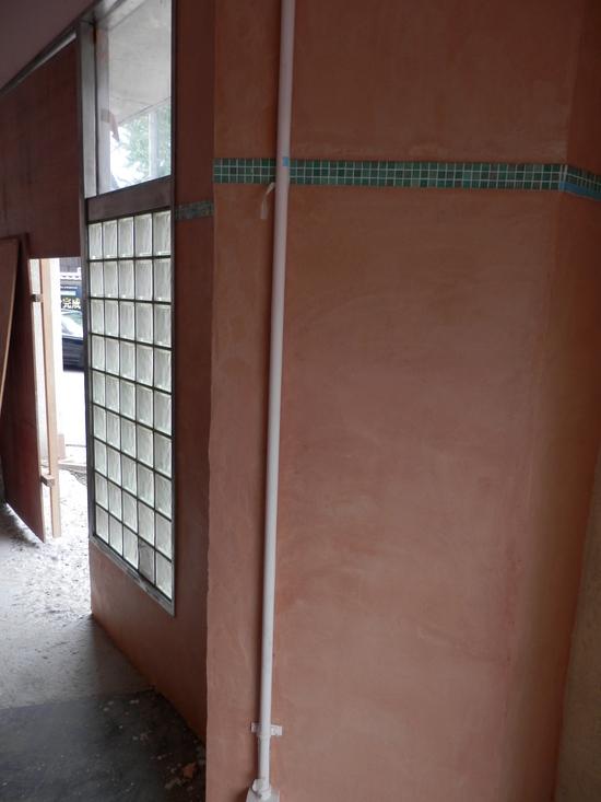 「土壁」塗りと「キッチンシート」☆_a0125419_8153745.jpg