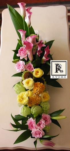 表参道の美容院 kafka のお祝いのお花_c0128489_1133339.jpg