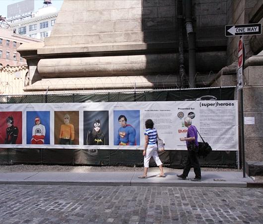 NYで開催中の誰でもみんなヒーローってテーマのストリート写真展_b0007805_1424053.jpg