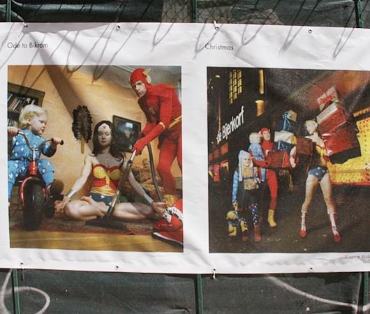 NYで開催中の誰でもみんなヒーローってテーマのストリート写真展_b0007805_145248.jpg