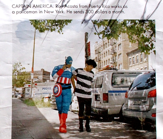 NYで開催中の誰でもみんなヒーローってテーマのストリート写真展_b0007805_1501597.jpg