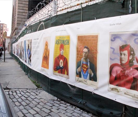 NYで開催中の誰でもみんなヒーローってテーマのストリート写真展_b0007805_1512942.jpg