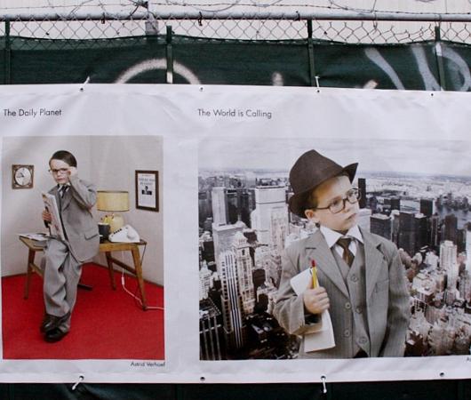 NYで開催中の誰でもみんなヒーローってテーマのストリート写真展_b0007805_1532268.jpg