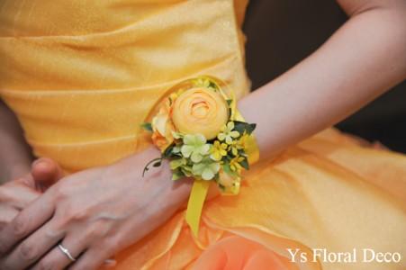 鮮やかな黄色のドレスに 黄色いお花の花冠_b0113510_23372981.jpg