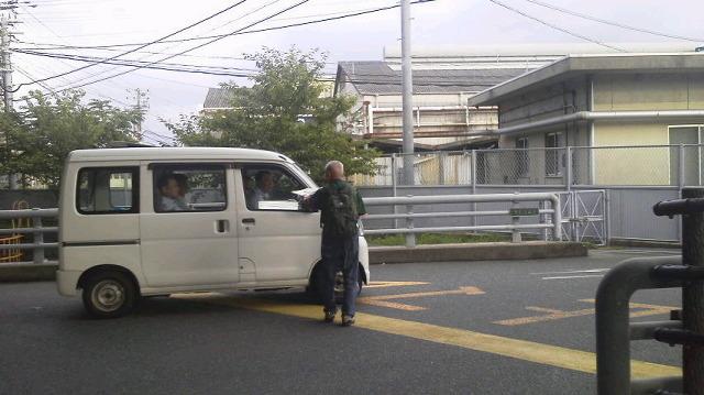 JR西日本下関総合車両所に朝ビラ!_d0155415_17385145.jpg